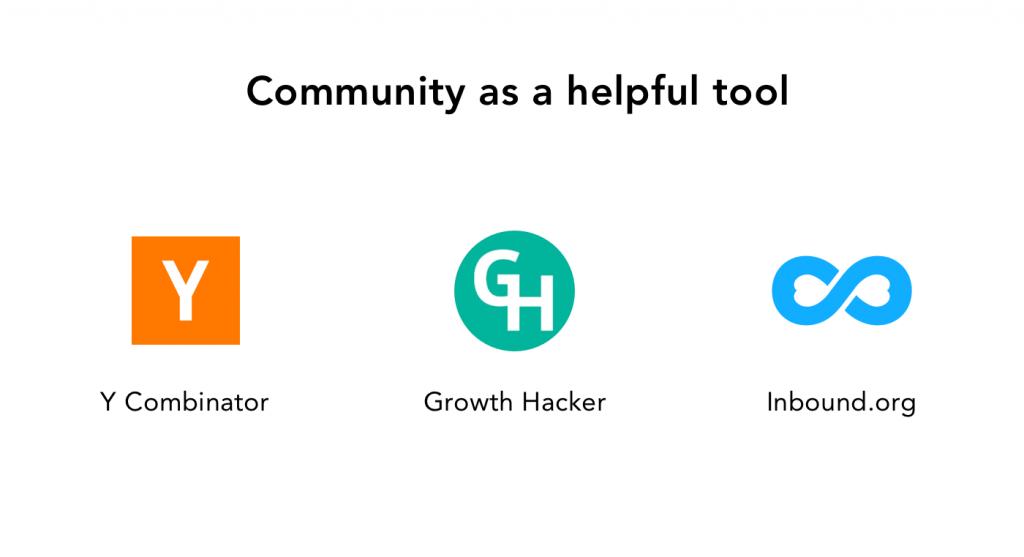 Community as a Helpful Tool