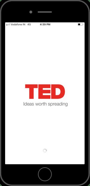 TedTalks — Splash Screen