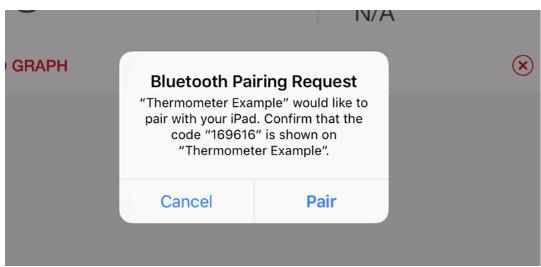 bluetooth numeric comparison
