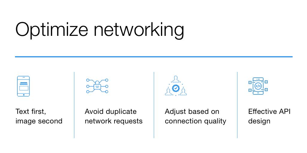 mobile app network optimization