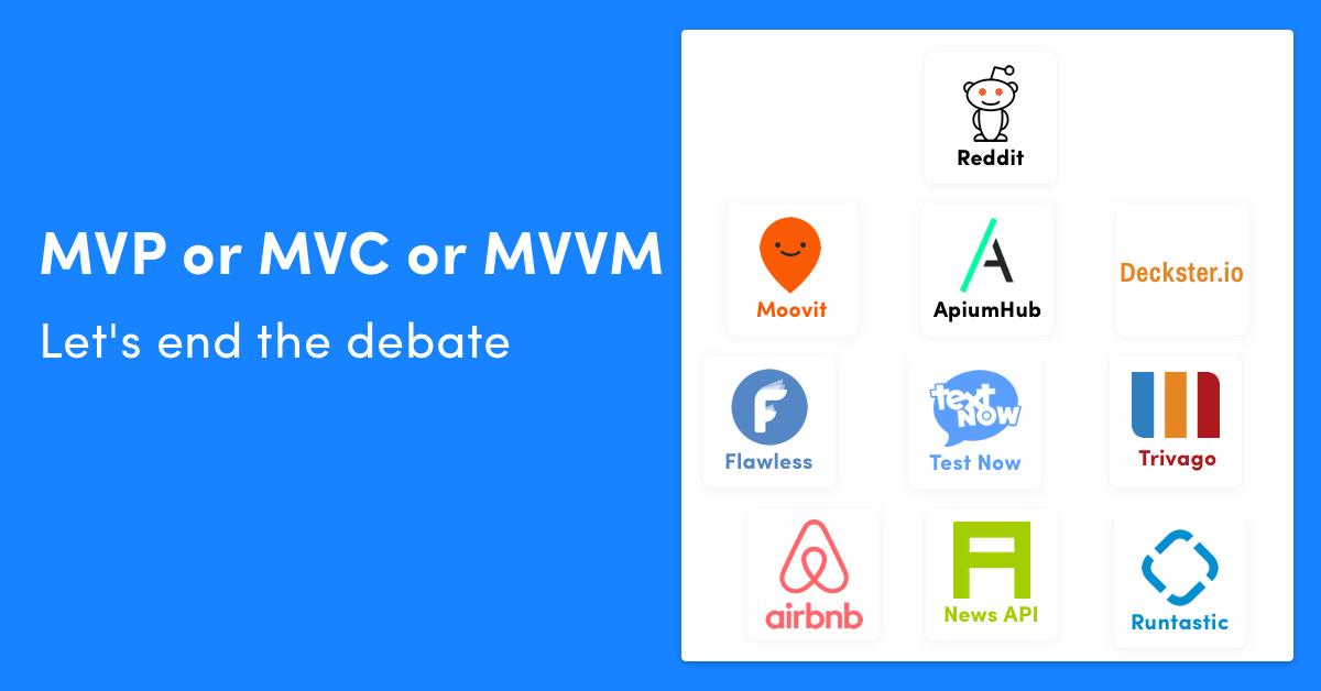 MVC vs MVP vs MVVM iOS