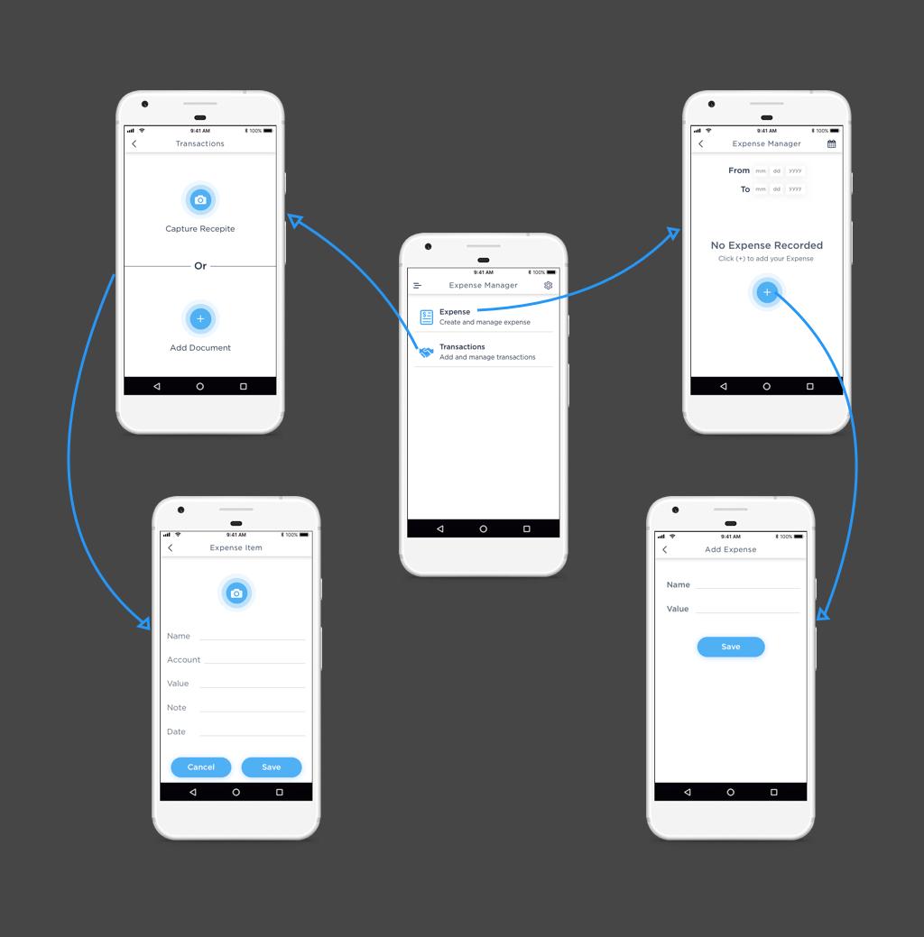 ExpenseManager app