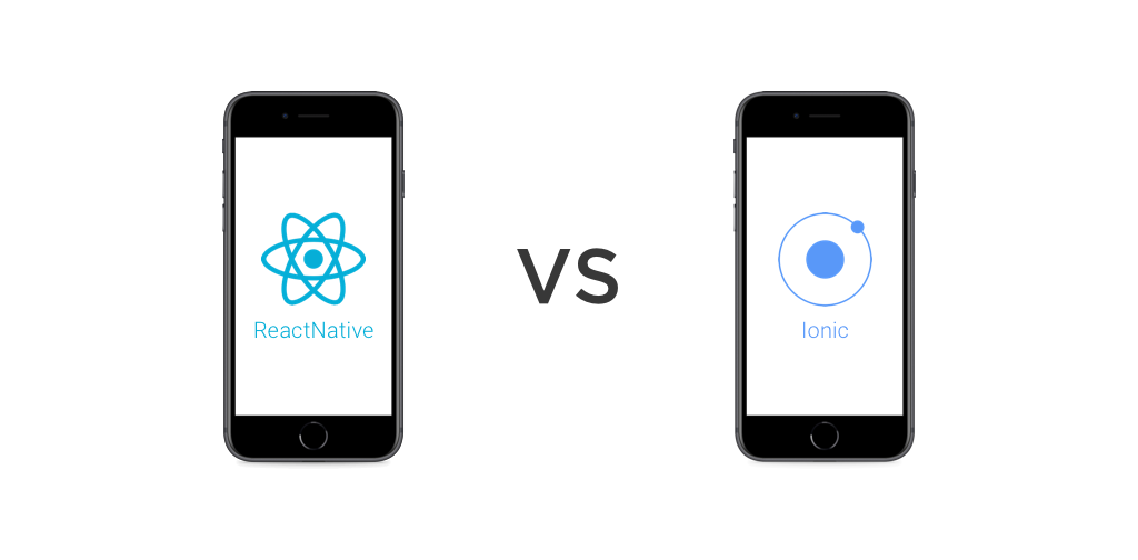 React native vs ionic for IoS Application development Copy