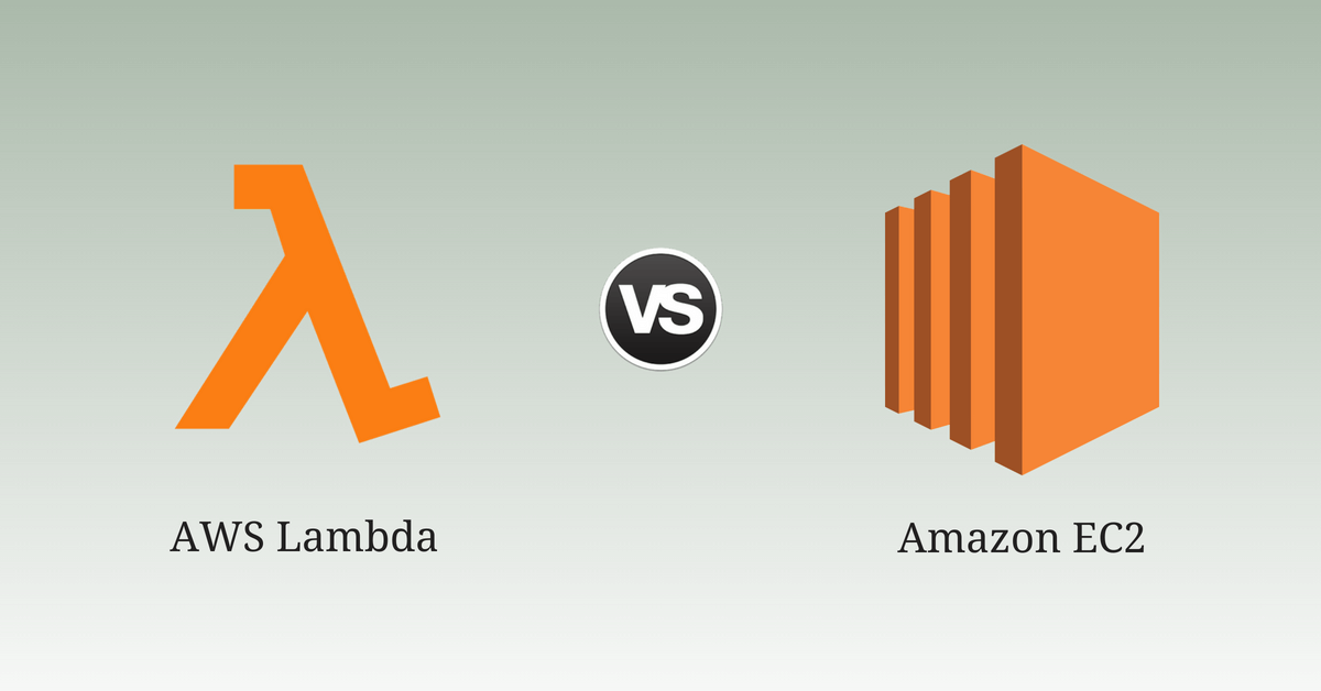 AWS Lambda vs EC2: Comparison of AWS Compute Resources