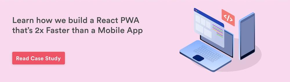 Build React PWA