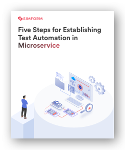 steps for establishing test automation in microservices