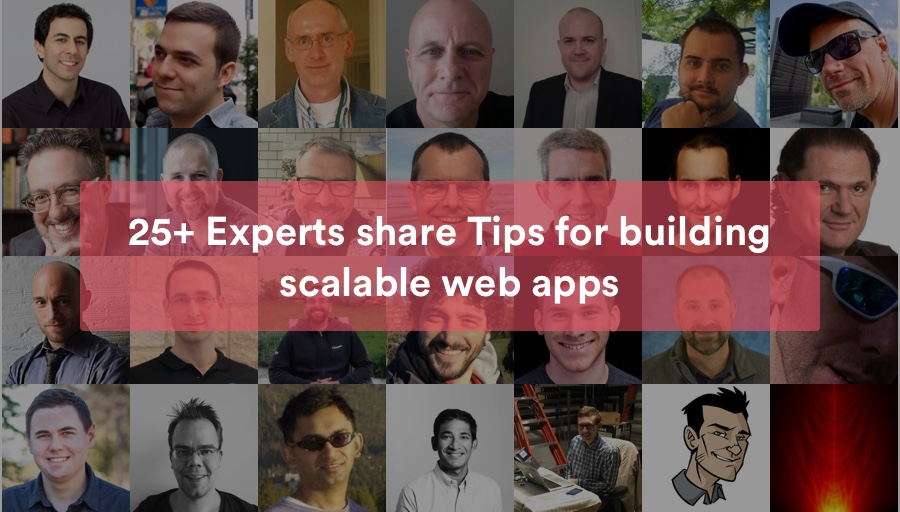Web scalability tips from Experts