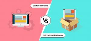 custom software vs off-the-shelf software