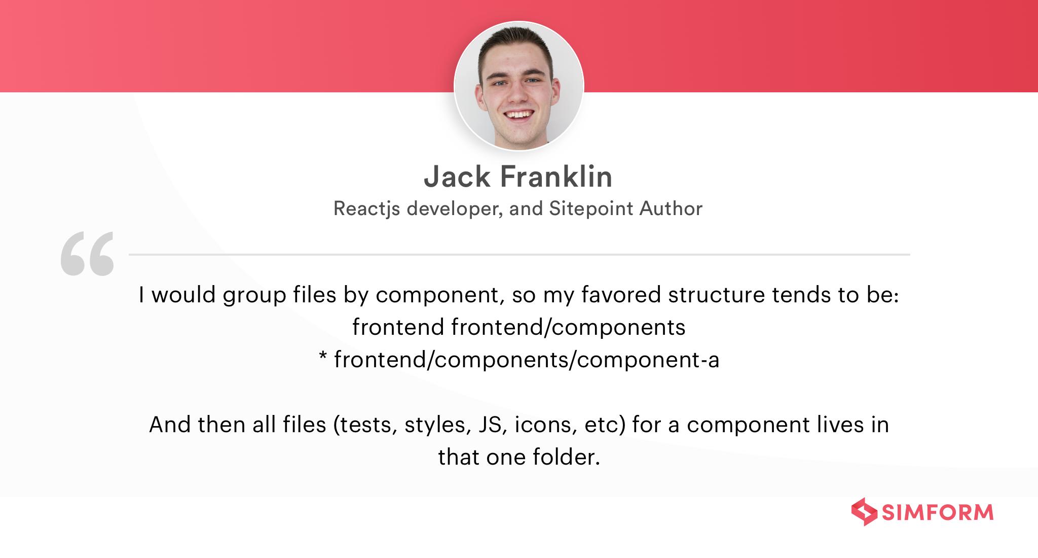 Jack Franklin 2
