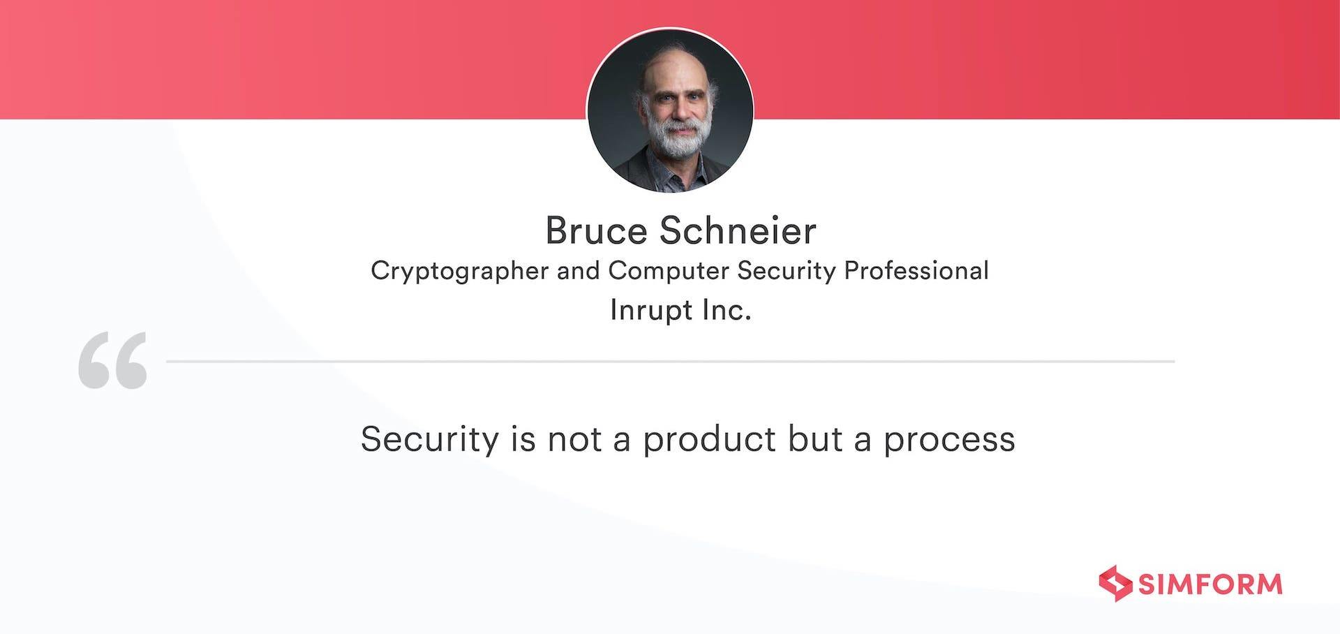 Bruce Schneier Quote React Security