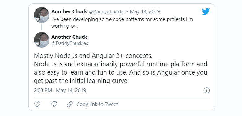 another chuck twitter