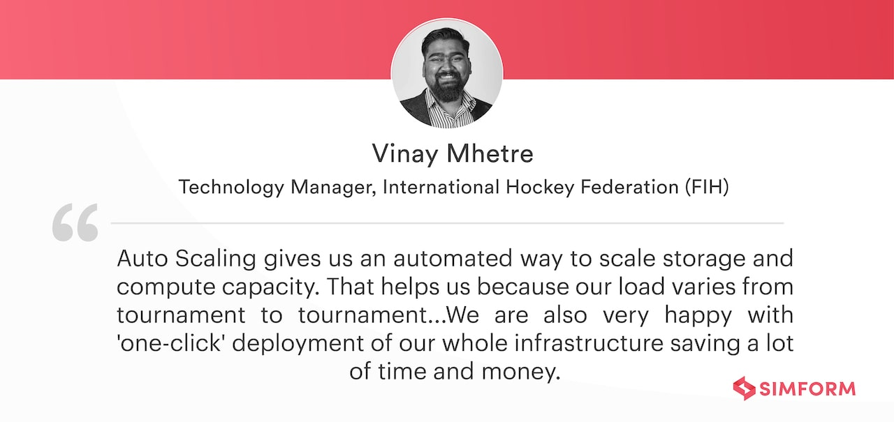Quote Vinay FIH