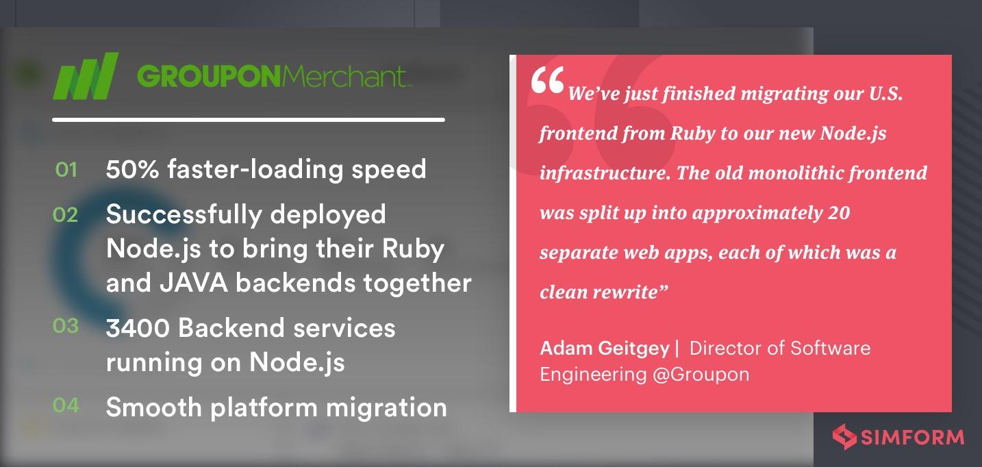 groupon uses node.js