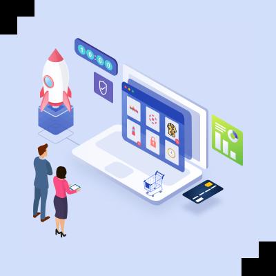 eCommerce website launch