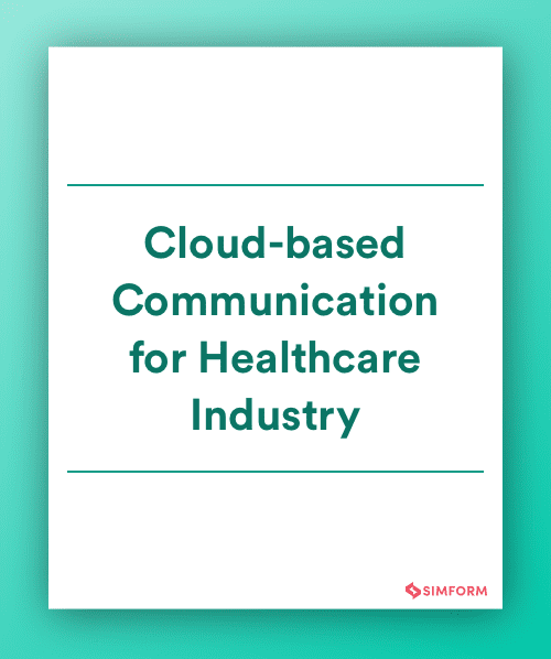 Cloud communication in Healthcare industry