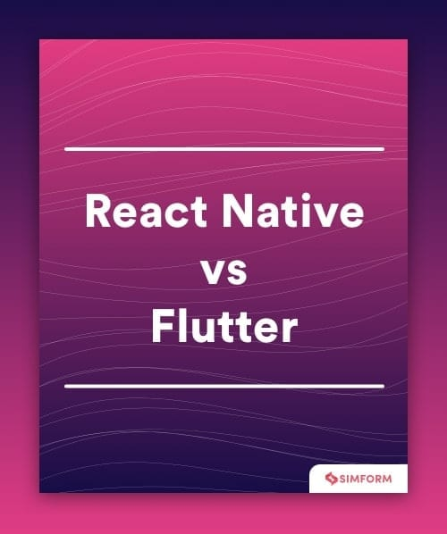 React Native vs Flutter Sidebar