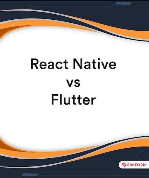 React Native vs Flutter Sidebar