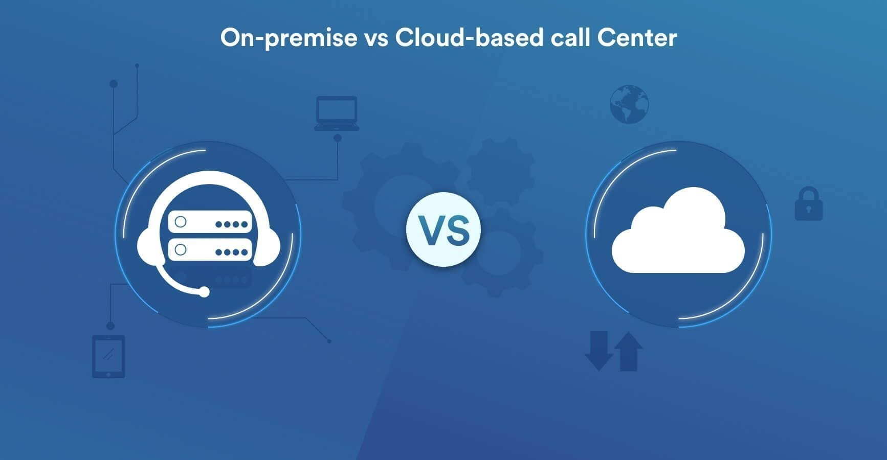 on-premise vs cloud-based call-center