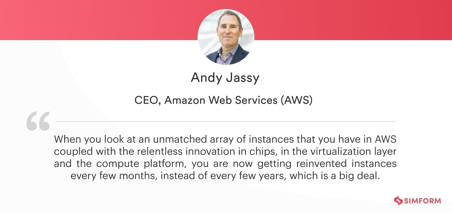 Andy Jassy_AWS reInvent 2020 Announcements