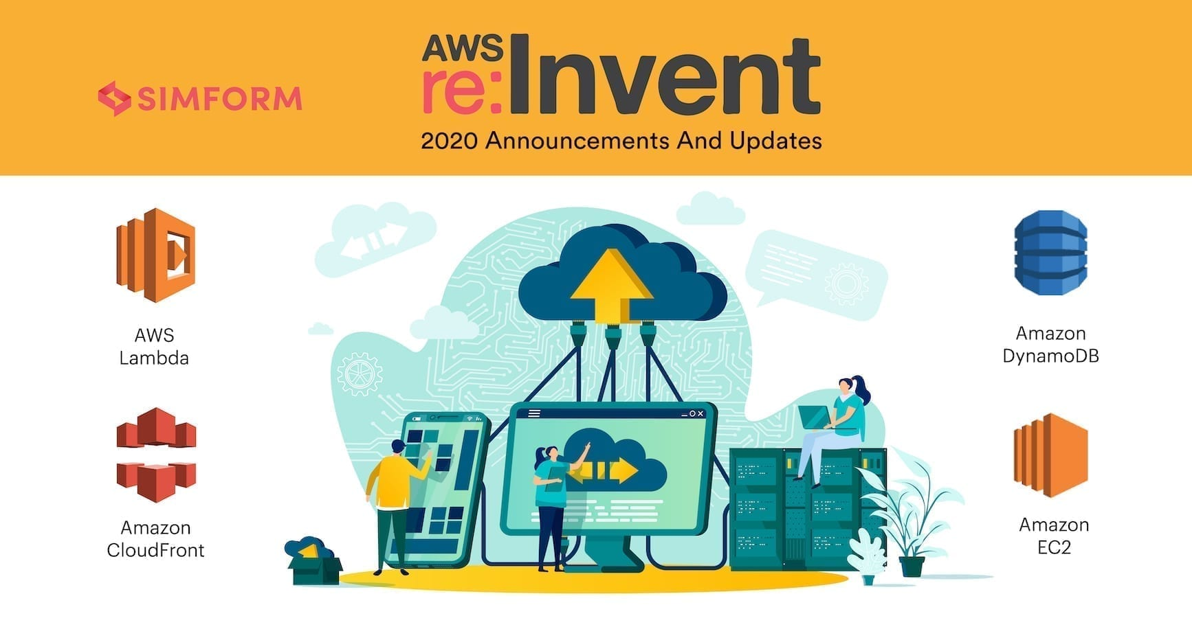 Cover Image - AWS reInvent 2020 Announcements