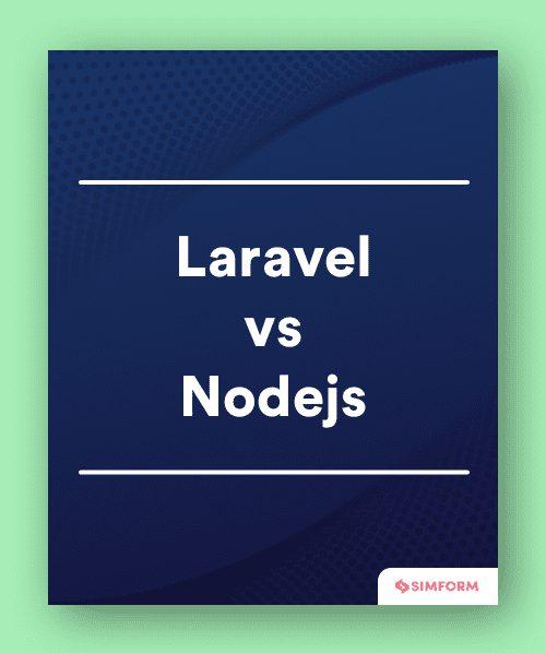 laravel vs nodejs sidebar