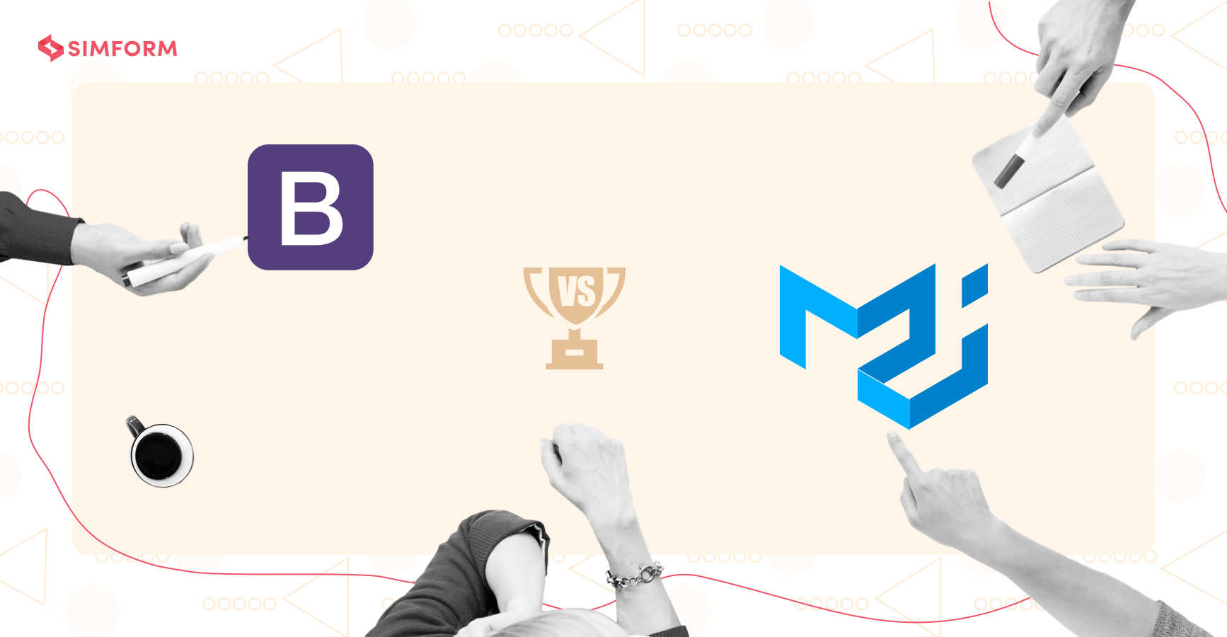 Bootstrap vs. Material