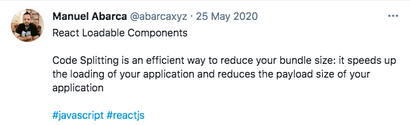 React scalability