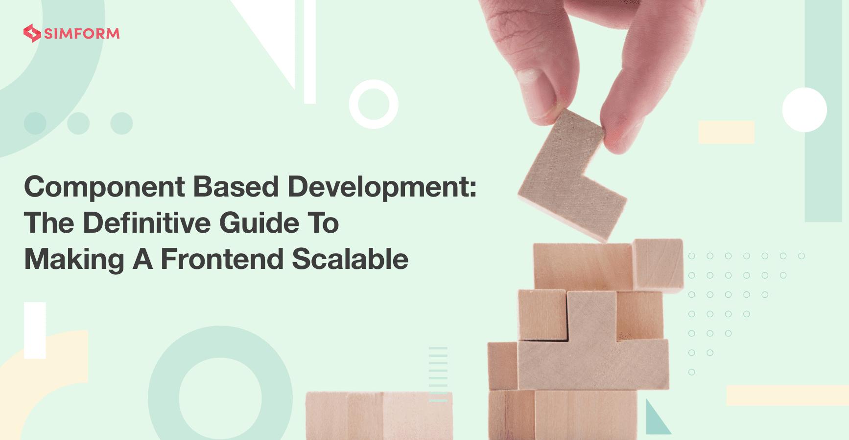 component-based development blog banner