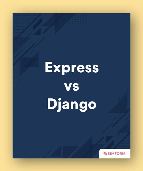 Express vs Django-Sidebar