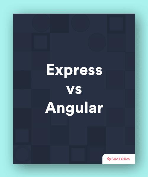 Express vs. Angular-Sidebar