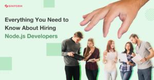 Banner Hiring Node.js developers