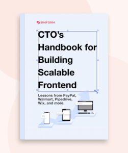 building scalable frontend ebook