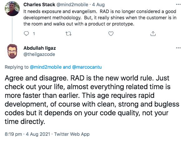 RAD methodology