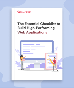 Checklist to build high performing web applications